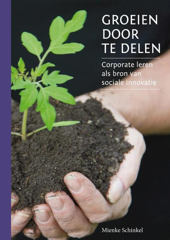 Cover van het boek 'Groeien Door Te Delen' van Mienke Schinkel