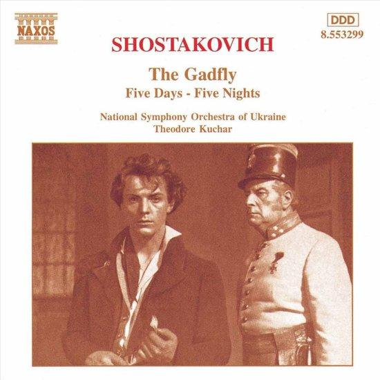 Shostakovich: The Gadfly, Five Days-Five Nights / Kuchar