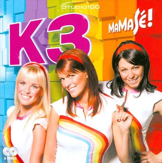 CD cover van MaMaSe! van K3