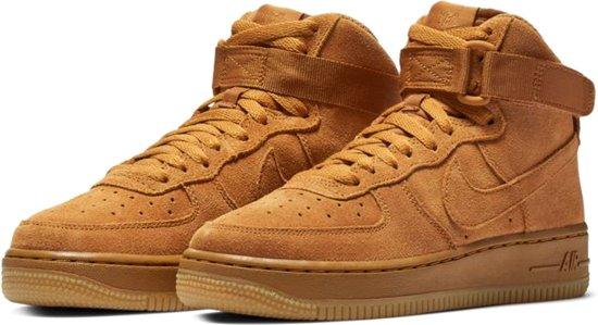 best sneakers b9844 895da 38 1 Sneakers Force 07 Nike High Juniorsneakers Maat Suede Lv8 Mannen Air  Oranje bruin fRvqw1