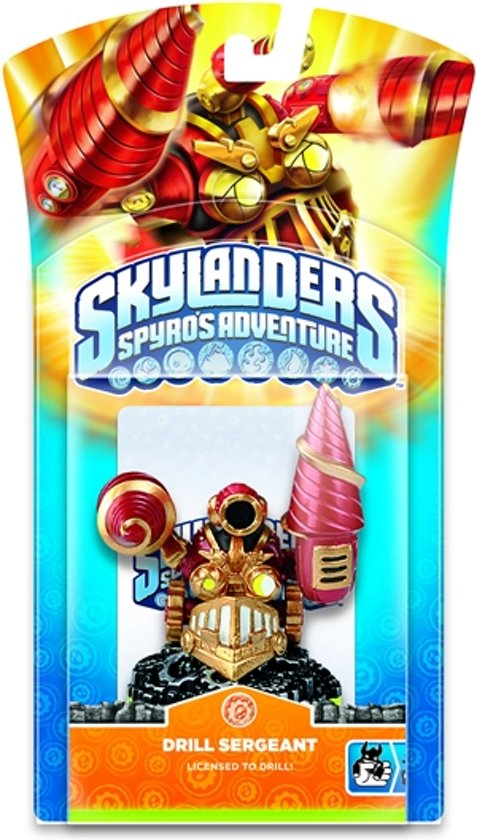 Skylanders Spyro's Adventure: Drill Sergeant