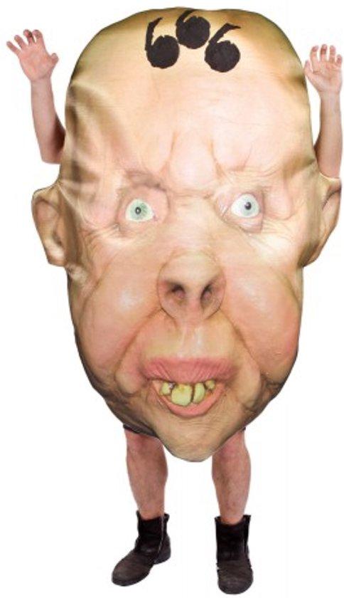 Halloween Groot hoofd kostuum voor volwassenen