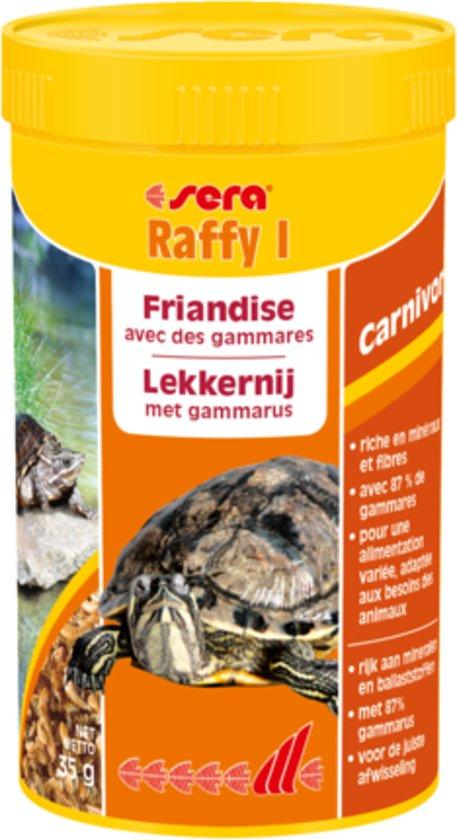 sera Raffy I - 1000ml - Reptielenvoer gammarus schildpadvoer