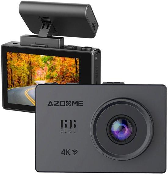 AZDome M10 Pro dashcam - 4K Touch Wifi GPS dashcam
