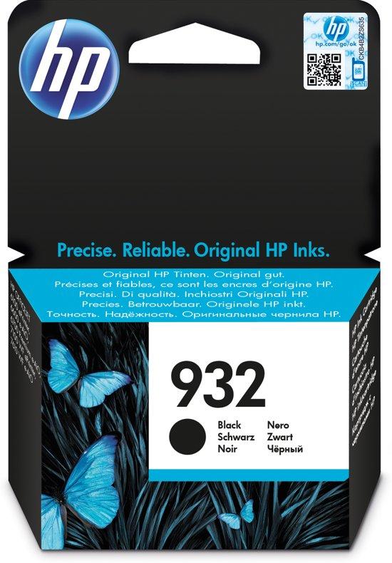 HP 932 - Inktcartridge / Zwart
