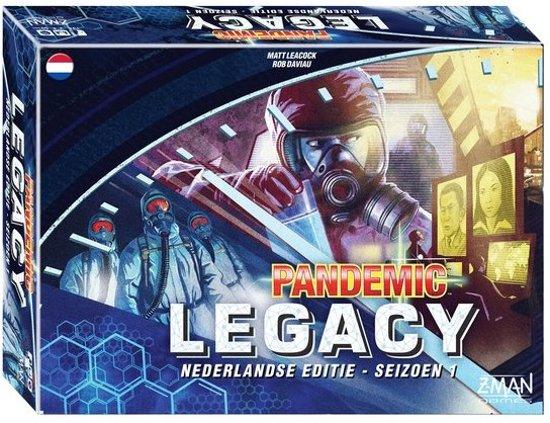 Afbeelding van het spel Z-man Games Pandemic Legacy Blue Gezelschapsspel