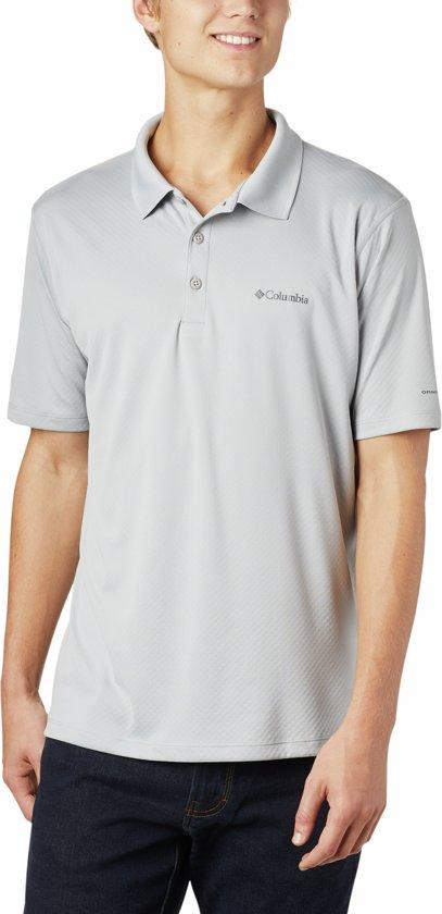Columbia Zero Rules Polo Shirt Sportpolo Heren - Carbon Heather