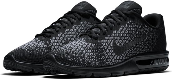nike air max sequent 2 wit rood