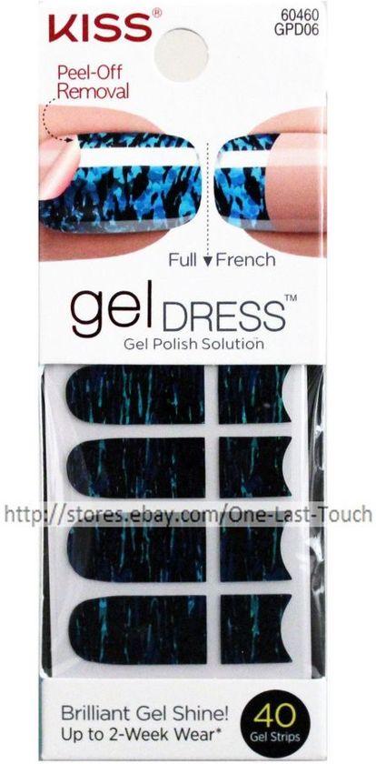 bol.com | KISS 40 Nail Gel Dress peel-of removal Strip AFTER ...