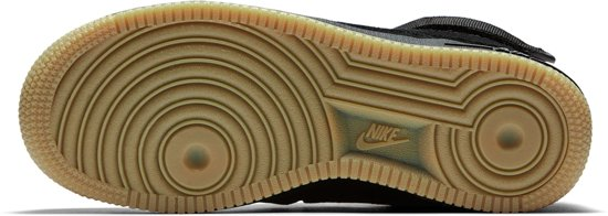 High Maat 1 Air Suede Nike Mannen Sneakers Lv8 Force Zwart 39 '07 Junior AFOx1qw