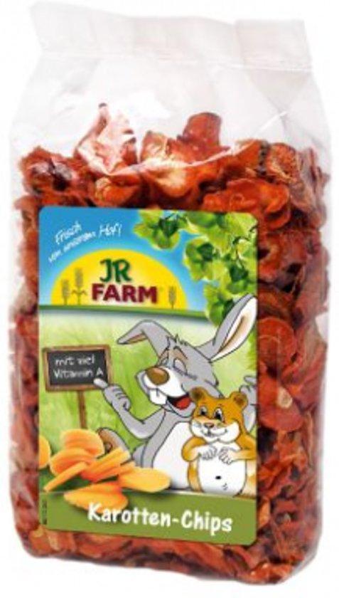 JR Farm - Wortelchips - 125g - Verpakt per 3 - Knaagdierensnack