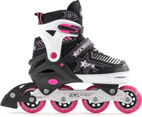 b0d5a97e699 SFR Pulsar Verstelbare Inline Skate Junior Inlineskates - Maat 30-34 -  Unisex - zwart