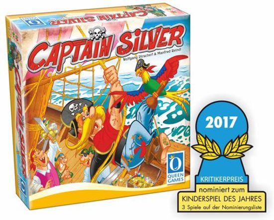 Captain Silver bordspel - Queen Games