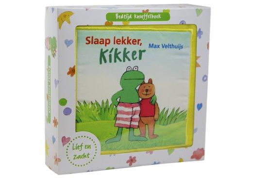 Boek cover Kikker - Slaap lekker, Kikker van Max Velthuijs (Paperback)