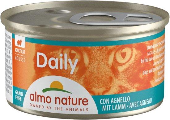 Almo Nature Cat Blik Daily Menu Mousse 24*85 g Lam
