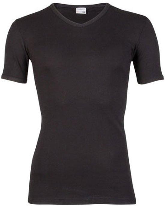 Beeren Jongens T-shirt - V-hals - Zwart - maat 152