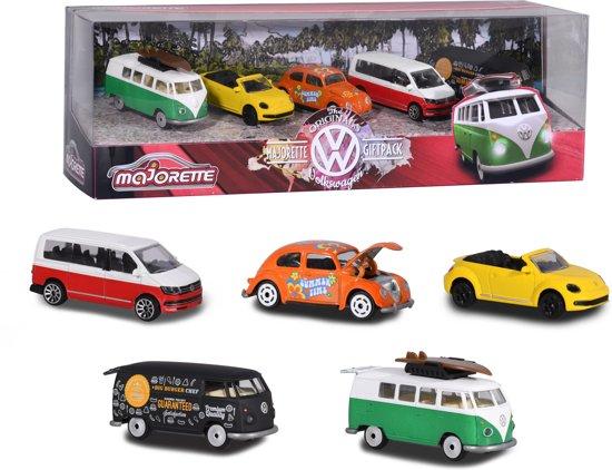 Majorette Volkswagen Original Giftpack 5 stuks - Speelgoedvoertuig