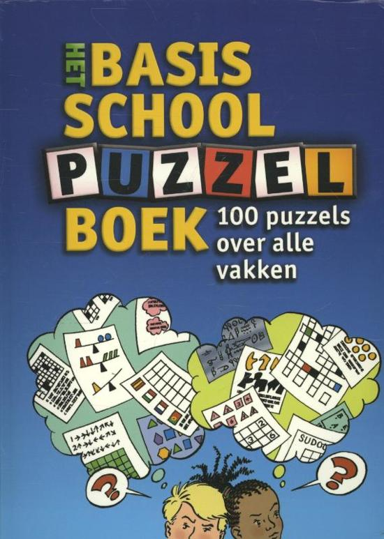 Boek cover Het basisschool puzzelboek van Wim Daniëls (Paperback)