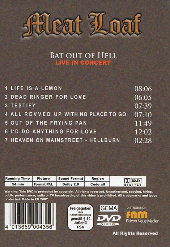 Meat Loaf - Live In Concert