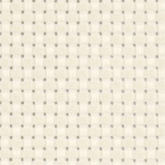 Aida Stof , afm 50x50 cm, off-white, 1 stuk