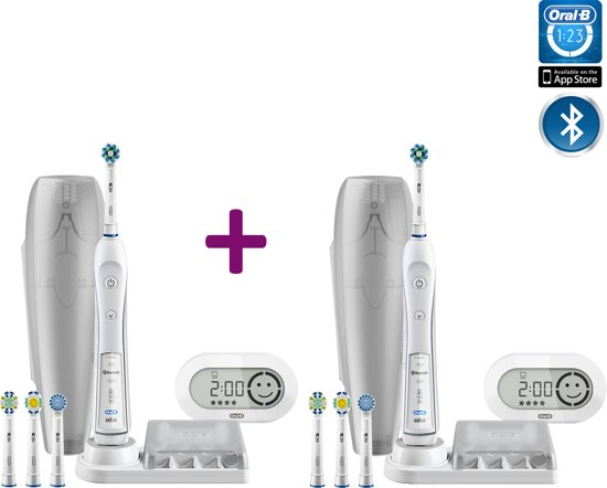 oral b pro 6000 smartseries bluetooth duo set. Black Bedroom Furniture Sets. Home Design Ideas