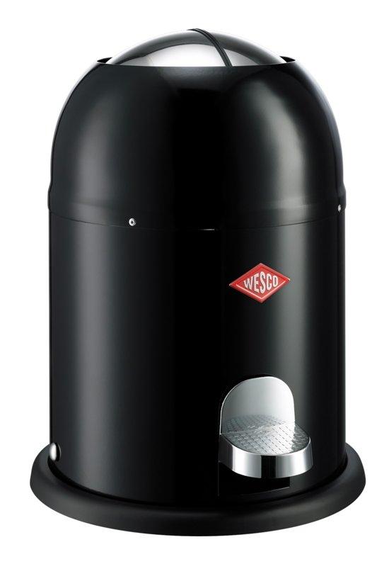 Wesco Single Master Prullenbak - 9 l - Zwart