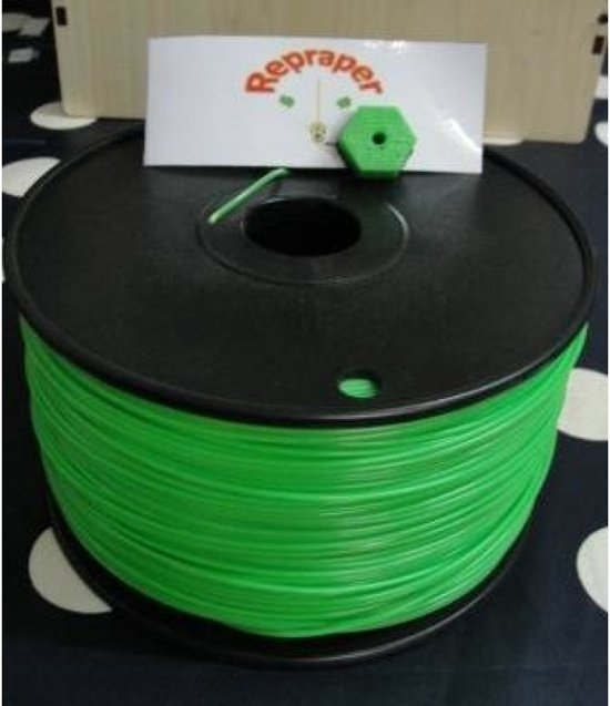 1.75mm groen PLA filament