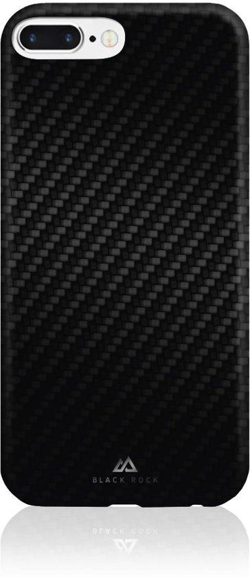 Black Rock Flex Carbon - Cover - Geschikt voor Apple iPhone 6S/7/8 Plus - Zwart