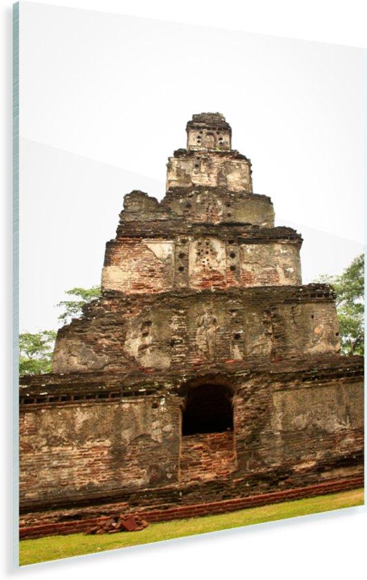 Hindoeïstische tempels in Polonnaruwa Sri Lanka Plexiglas 20x30 cm - klein - Foto print op Glas (Plexiglas wanddecoratie)