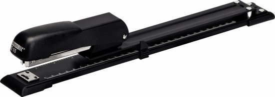 Rapid Economy Langarm Nietmachine E15 - 20 vel - Zwart