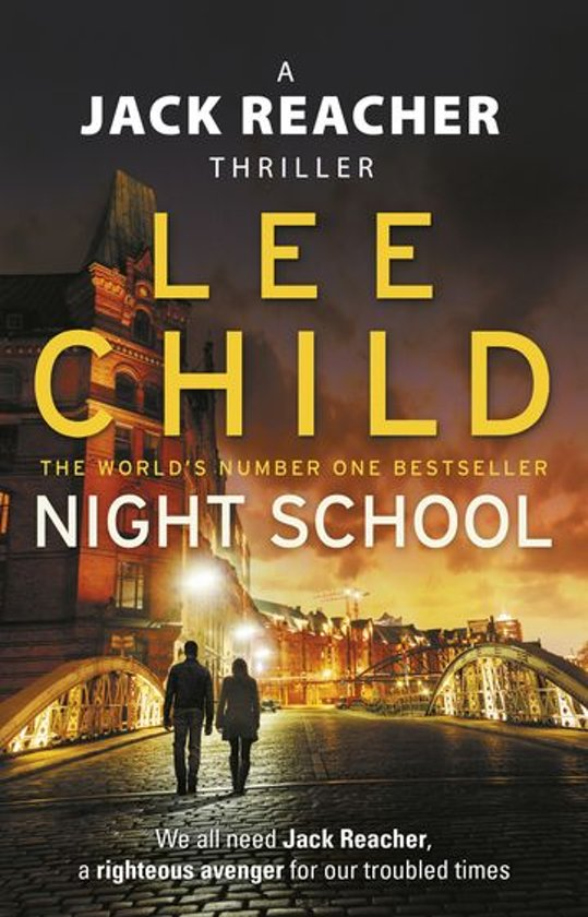 Boekomslag voor Night School