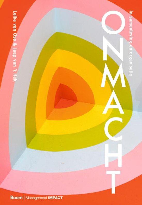 Boek cover Onmacht van Leike van Oss (Hardcover)