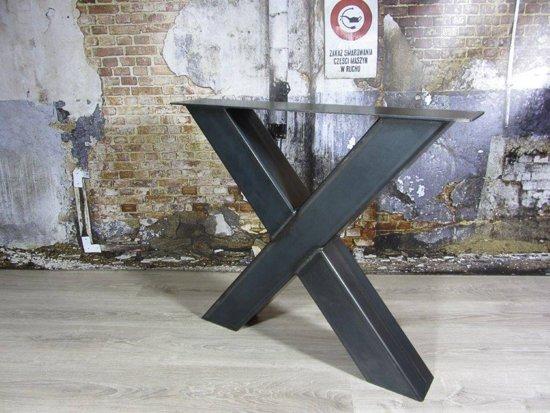 Industrieel Tafel Onderstel : Bol.com handgemaakt industrieel tafelonderstel x poot zwaar