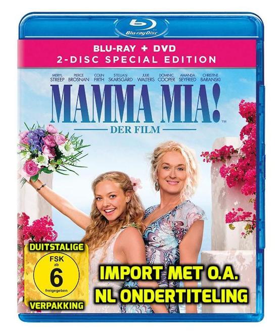 Bolcom Mamma Mia 2 Disc Special Edition Blu Ray Bonus