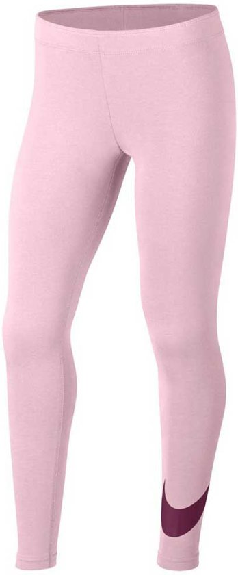 Nike G Nsw Favorites Swsh Tight Sportlegging Meisjes - Roze