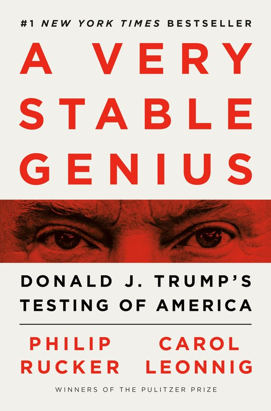 Boek cover A Very Stable Genius van Philip Rucker (Hardcover)