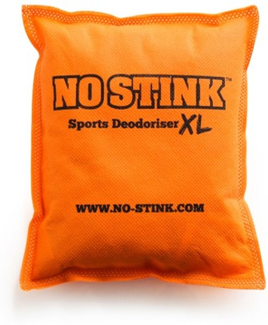 No Stink Ontgeur Zak Voor In De Sporttas Kast Of Tussen Je Sportspullen 1x Zak Xl Oranje