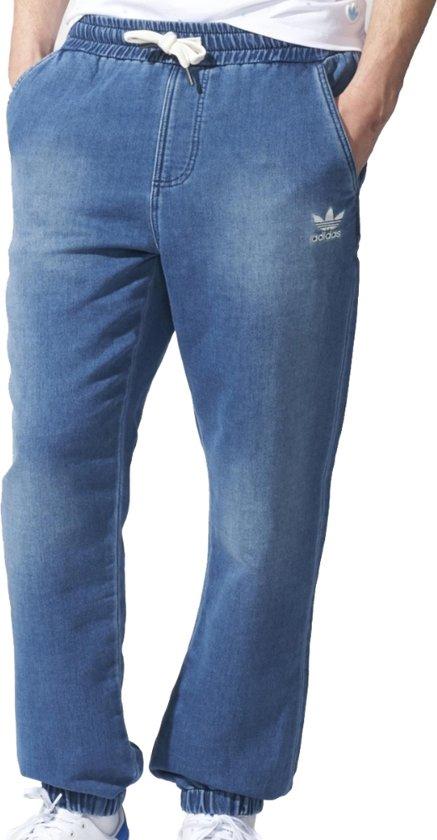 Joggingbroek Van Spijkerstof.Bol Com Adidas Denim Ft Pants S18440