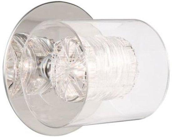 bol massive callas wandlamp chroom