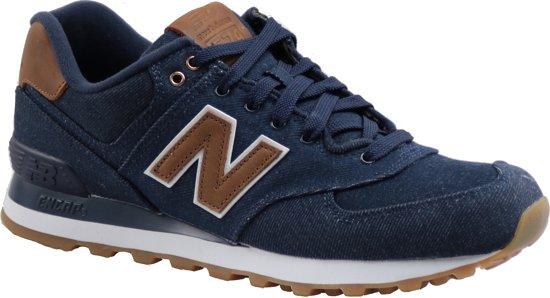 new balance blauw bruin