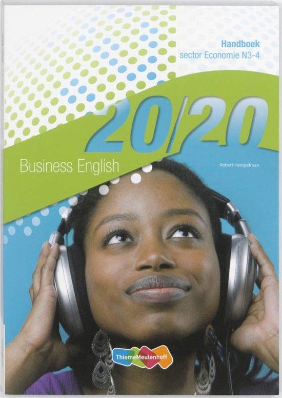 20 20 Business English Handboek N3 4 sector Economie