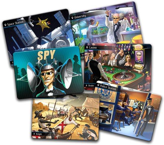 Thumbnail van een extra afbeelding van het spel Spyfall Card Game