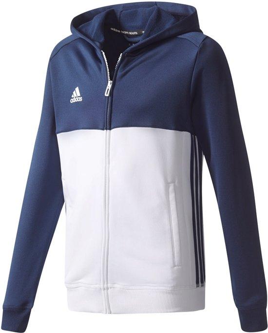 | Adidas T16 Hoody Kids Sweaters blauw donker 176