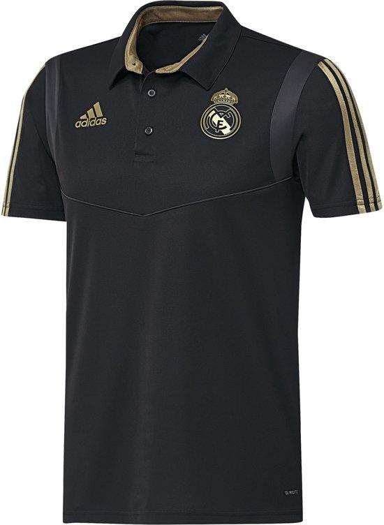 adidas Real Madrid Polo 2019/2020 Heren - Zwart - Maat M