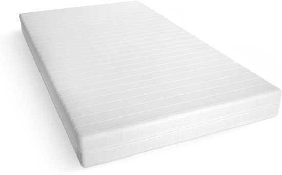 Matras - 160x200 - 7 zones - koudschuim - microvezel tijk - 15 cm hoog - medium
