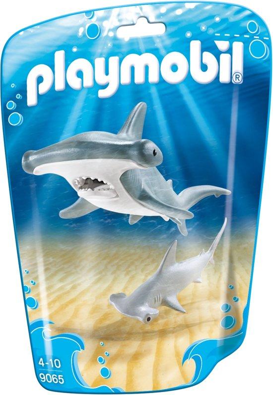Playmobil Family Fun: Hamerhaai Met Jong (9065)