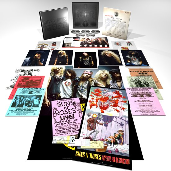 Appetite For Destruction (Cd + Blu-ray)
