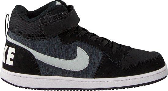 a3668659c7d bol.com   Nike Meisjes Sneakers Court Borough Mid (kids) - Zwart ...