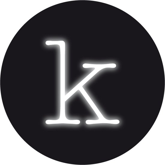 Seletti Neon Art - Wandlamp - letter K