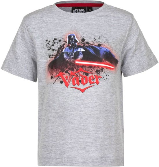 T-Shirt Star Wars - Darth Vader (Grijs) maat 110/116